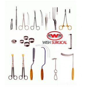 Mammaplasty Set DetailsInstrument Description# of Units01. Scalpel Blades #15 - Sterile, 100/Box102. Scalpel Handle, #7103. Jabeley Scissors, 13cm, Curved - Sharp/Sharp104. Metzenbaum Scissors, 20cm, Curved - Standard Pattern1+1Free05. &n...