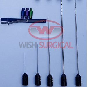 Facial Liposuction Cannulas Set